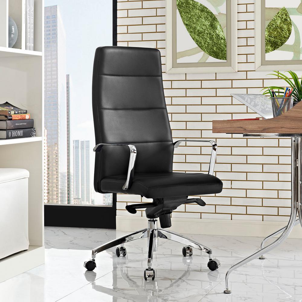 Stride Highback Office Chair in Black