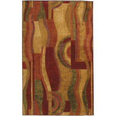 Picasso Wine 5 ft. x 8 ft. Area Rug