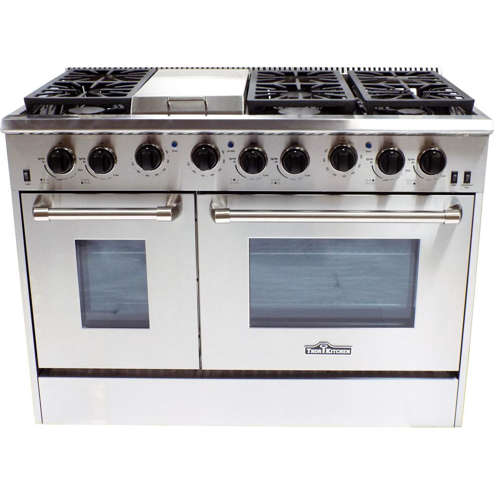 Thor Kitchen - Gas Ranges - Ranges - The Home Depot