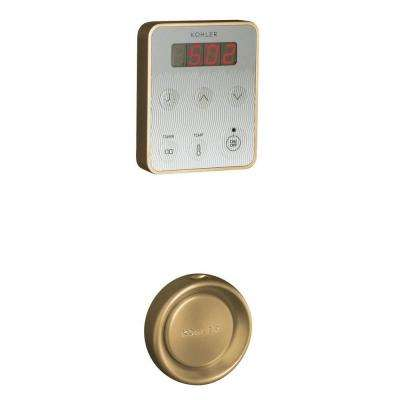 Fast Response Steam Generator Control Kit in Vibrant Brushed Bronze