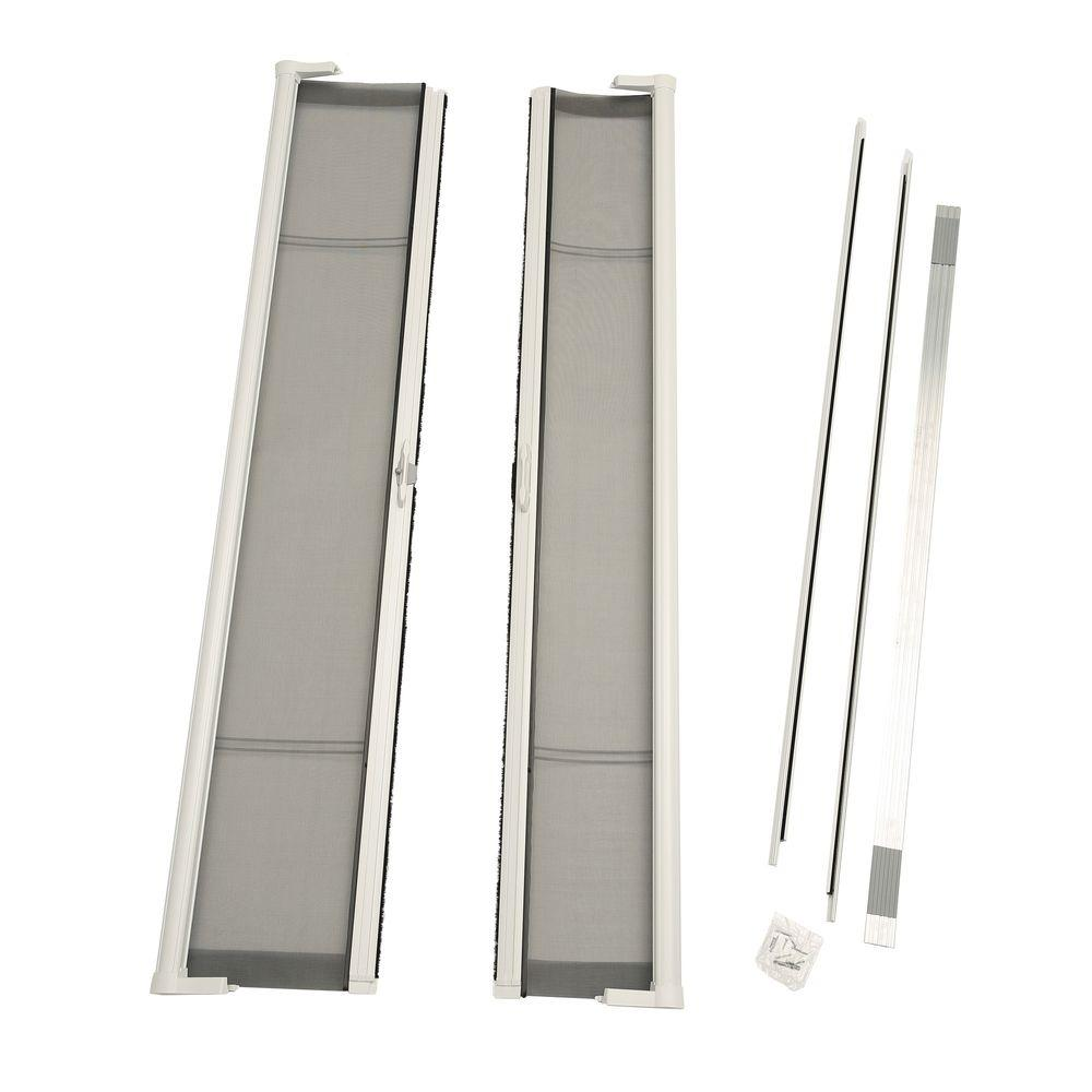 Brisa White Screen Double Door Pack  sc 1 st  The Home Depot & Screen u0026 Storm Door Hardware - Door Hardware - The Home Depot