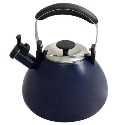 Marlowe 3 Qt. Blue Whistling Tea Kettle