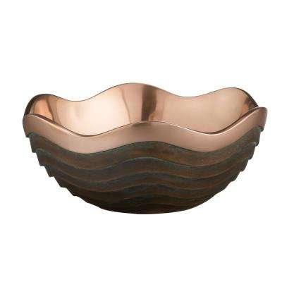 Copper Canyon 10 in. Alloy Bowl