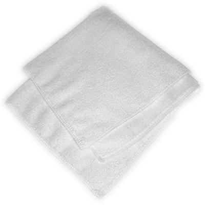 16 in. x 16 in. Terry Cleaning Microfiber Cloth in White (Case of 12)