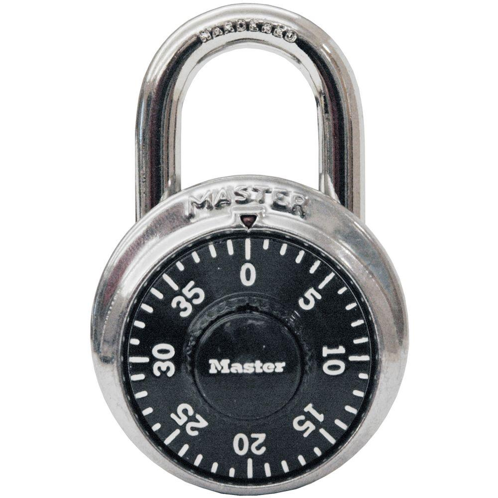 1500D 1-7/8 in. Wide Stainless Steel Preset Combination Padlock with 3/4