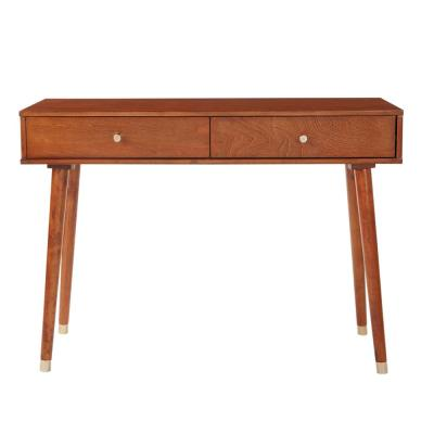 Cupertino Light Walnut Console Table