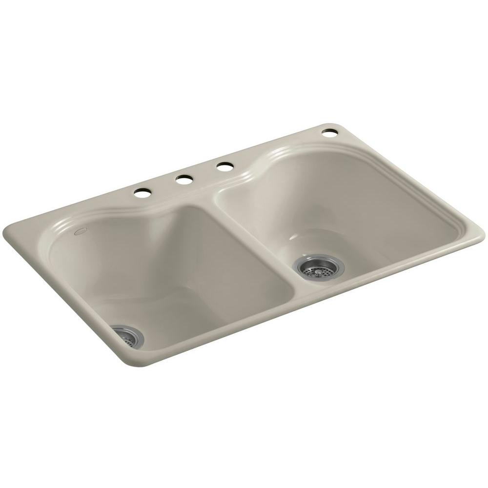 Kohler Hartland Cast Iron Kitchen Sink