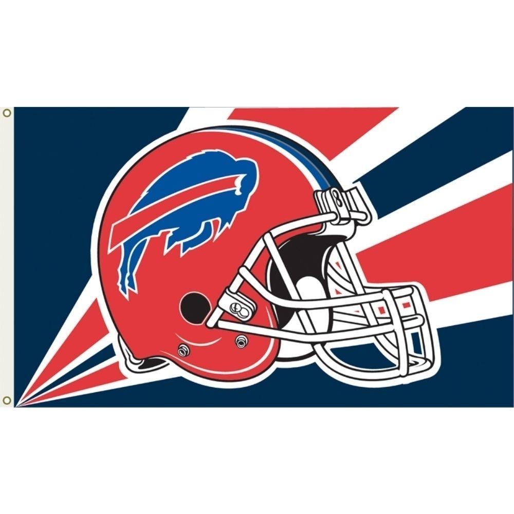 3 ft. x 5 ft. Polyester Buffalo Bills Flag