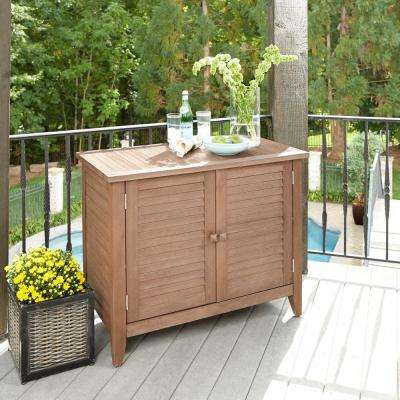 Laguna Wood Outdoor Serving Bar