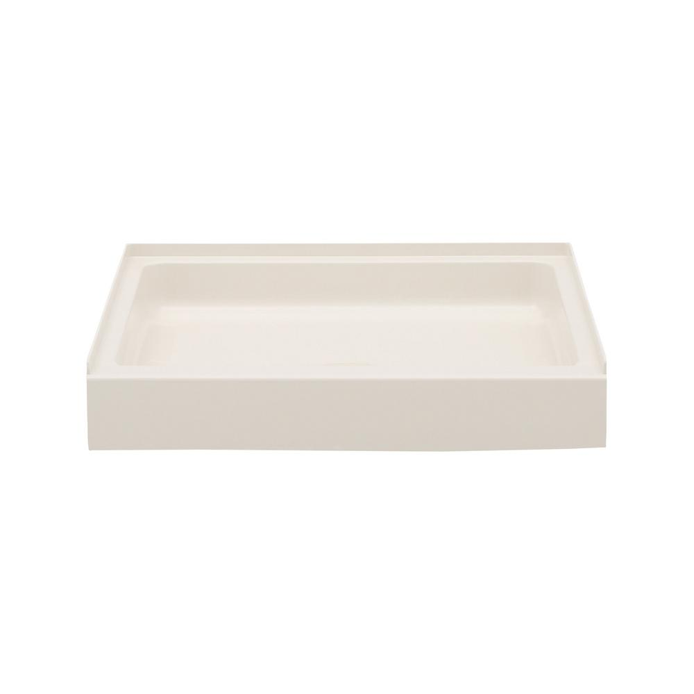 32 in. x 32 in. Solid Surface Single Threshold Shower Pan