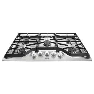36 in. Gas Cooktop in Stainless Steel with 5 Burners including 15000 BTU Power Burner