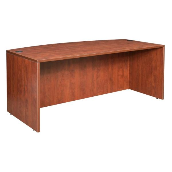 Regency Legacy 71 In Cherry Desk Shell Lds7135ch The Home Depot