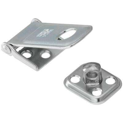 2-1/2 in. Rotating Post Hasp in Zinc Plate