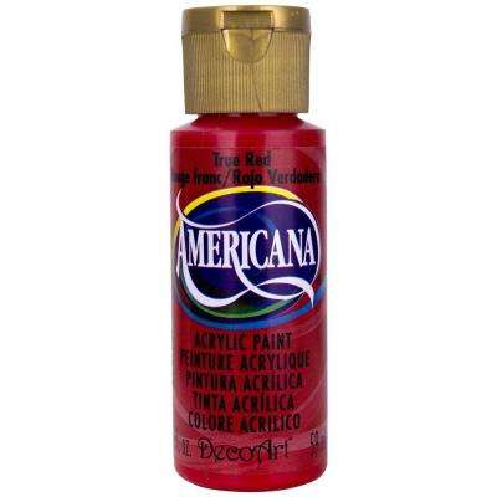 Americana 2 oz. True Red Acrylic Paint