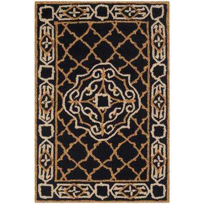 Black Gold Area Rugs Rugs The Home Depot