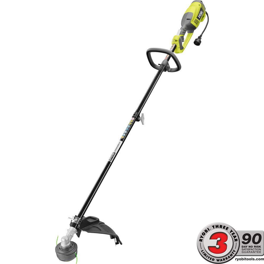 Ryobi 18 In 10 Amp Electric String Trimmer Ry41135 The Home Depot How To Build 138 Volt Power Supply