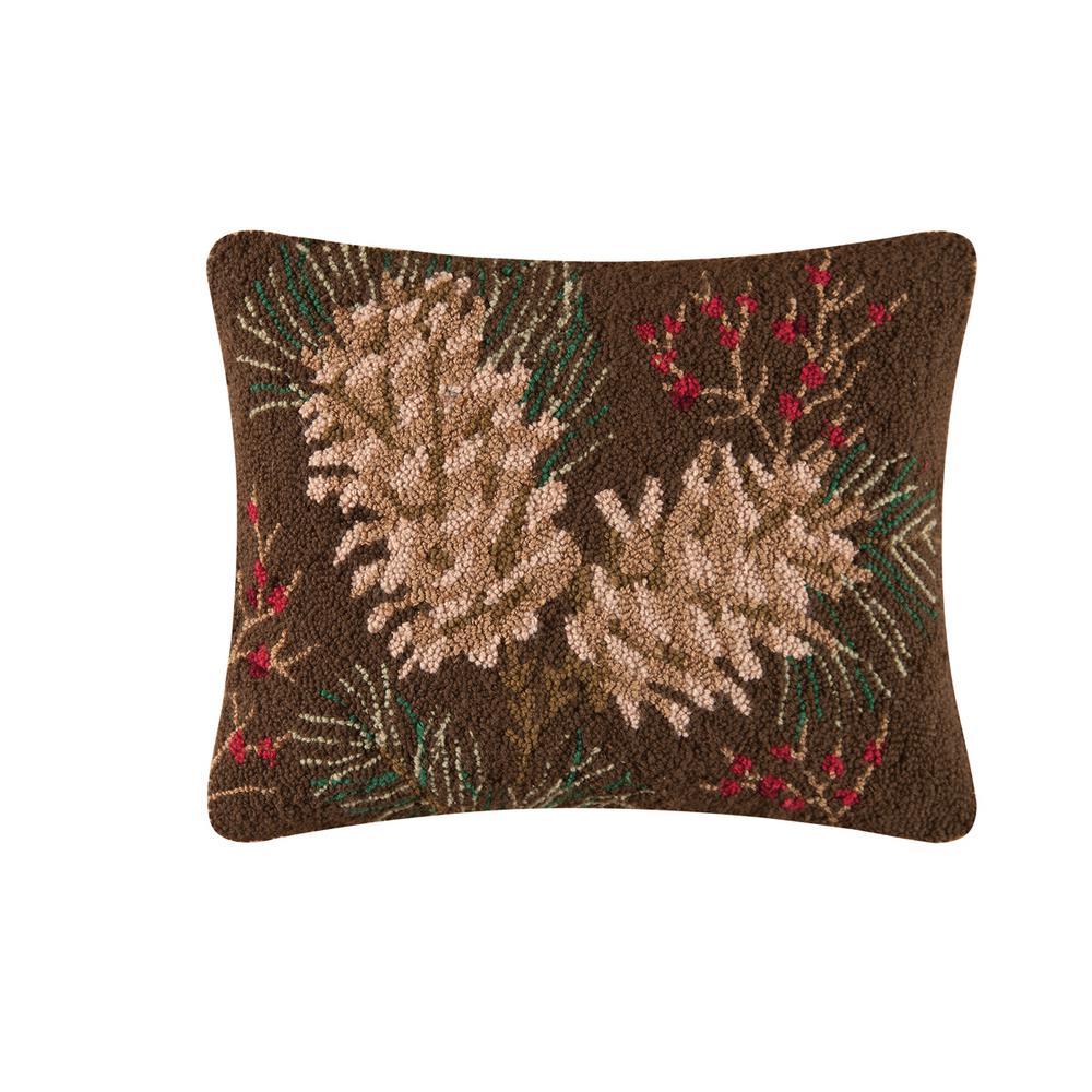 Rustic Retreat Hooked Standard Pillow