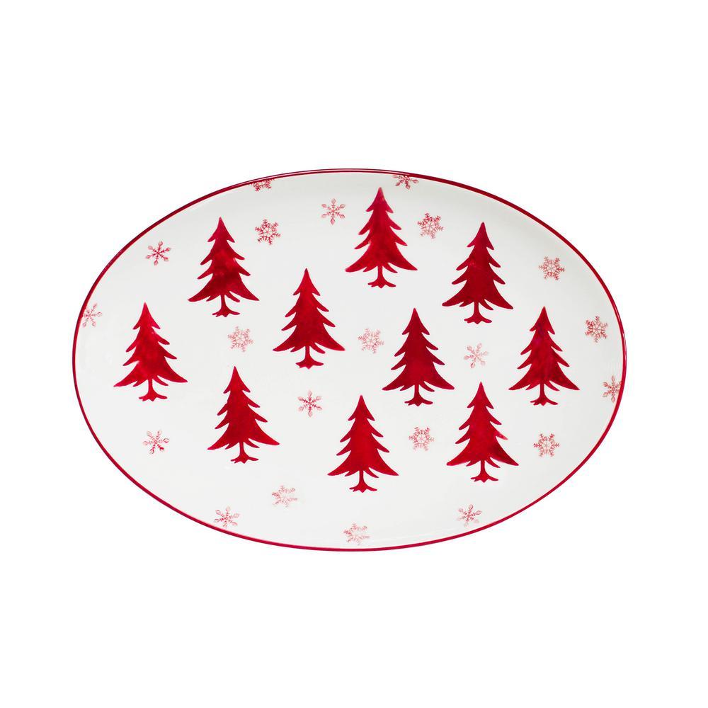Winterfest Oval Platter