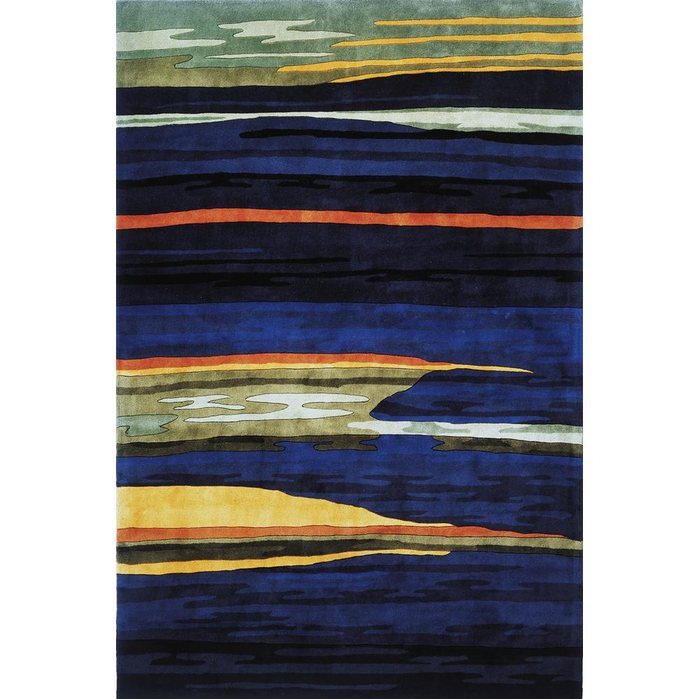 Contempo Midnight 8 ft. x 11 ft. Area Rug