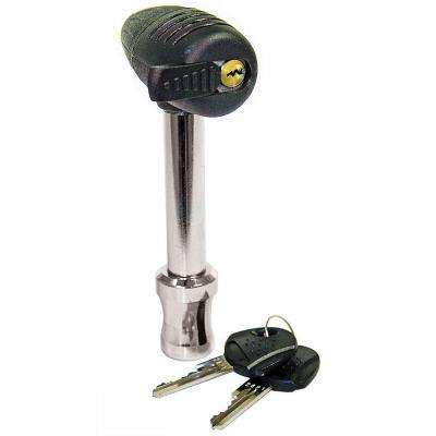Easy Access Receiver Lock with 360-Degree Rotating Head Integrated Key Slot and Sleeve