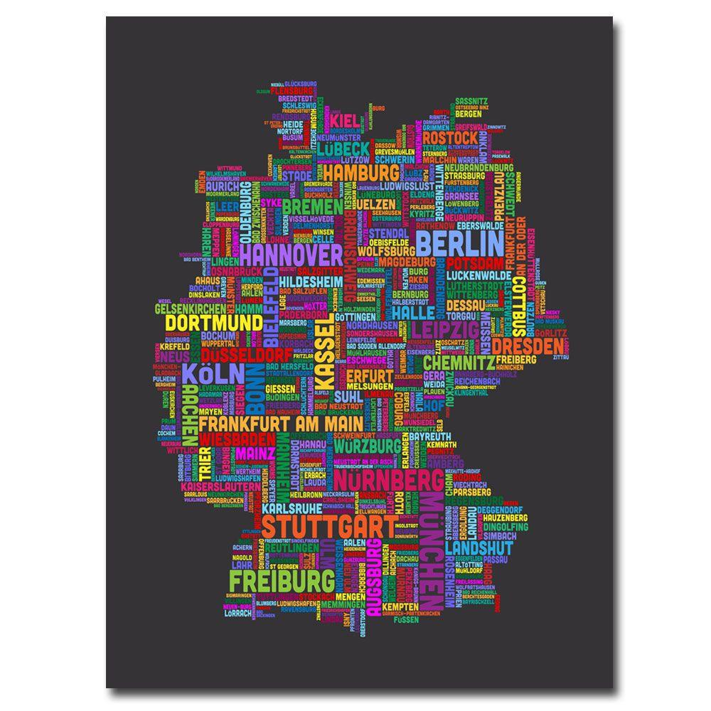 18 in. x 24 in. Germany Canvas Art