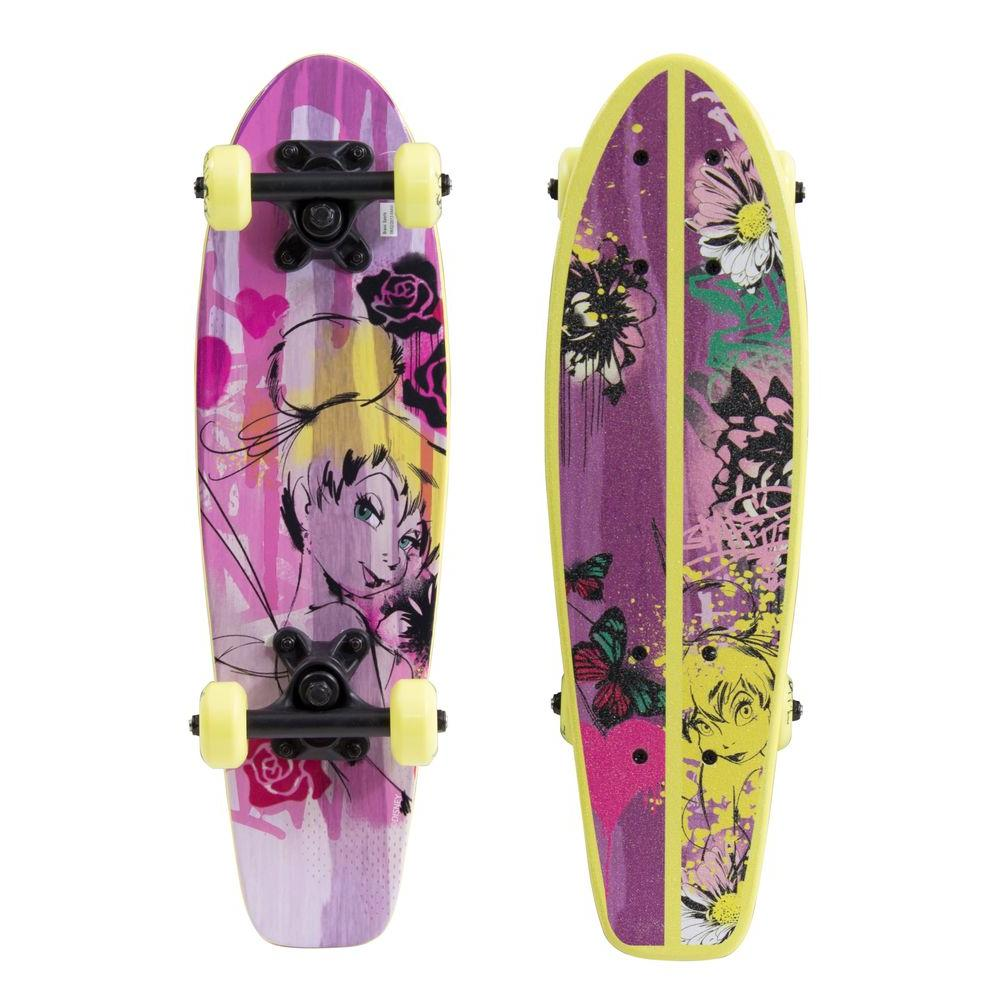 Tinkeristic Graphic 21 in. Kids Wood Cruiser Skateboard