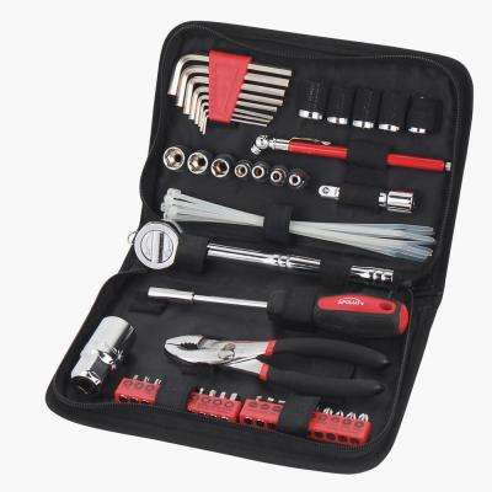 Auto Tool Set in Zipper Case (56-Piece)