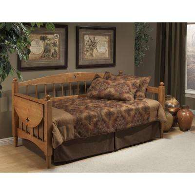 Dalton Daybed with Suspension Deck in Medium Oak