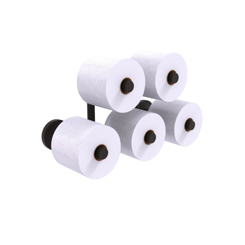 Prestige Regal 5 Roll Reserve Roll Toilet Paper Holder in Oil Rubbed Bronze
