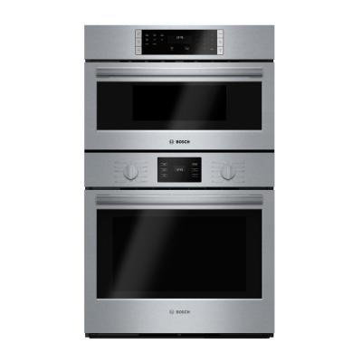 500 Series 30 in. Combination Electric Wall Oven with European Convection and Microwave in Stainless Steel