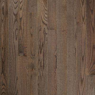 Plano Low Gloss Gray Oak 3/4 in. Thick x 5 in. Wide x Varying Length Solid Hardwood Flooring (23.5 sq. ft./case)