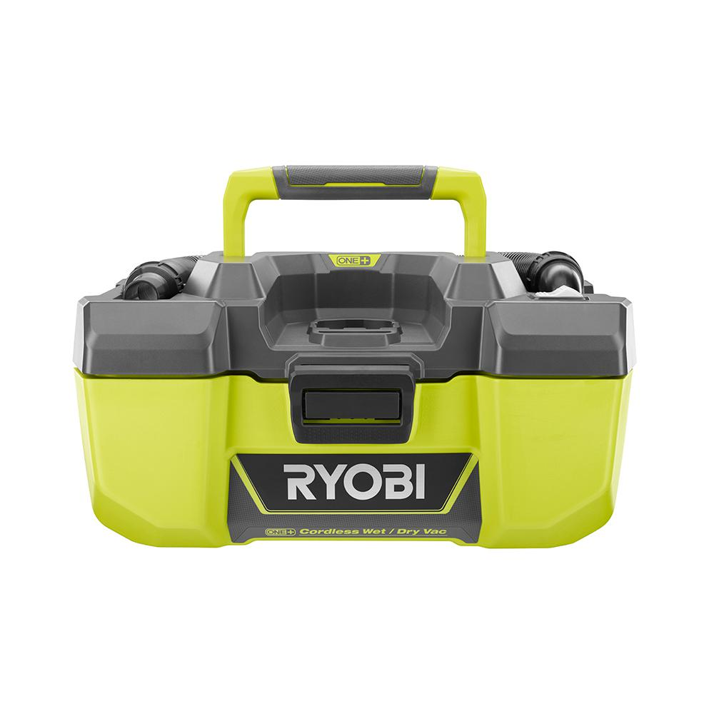 RYOBI 18-Volt ONE+ 3 Gal  Project Wet/Dry Vacuum with Accessory Storage  (Tool-Only)