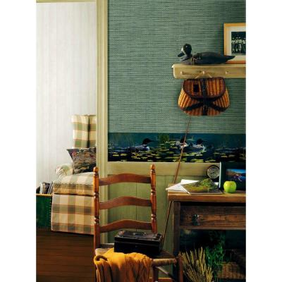 Northwoods Lodge Duck Pond Wallpaper Border