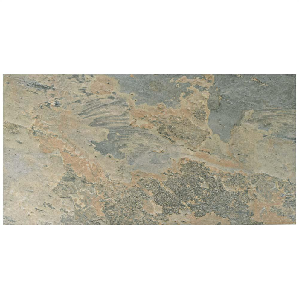 Ardesia Ocre 12-1/2 in. x 24-1/2 in. Porcelain Floor and Wall