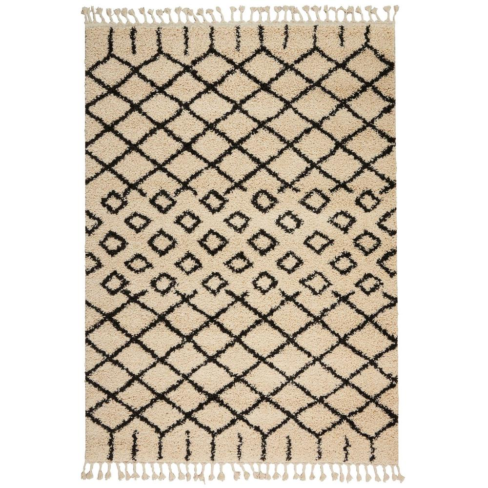 9 X 12 Nourison Nourmak Hand Knotted 100 Wool Persian: NuLOOM Carolyn Cream 9 Ft. 2 In. X 12 Ft. Area Rug-OZSG08A