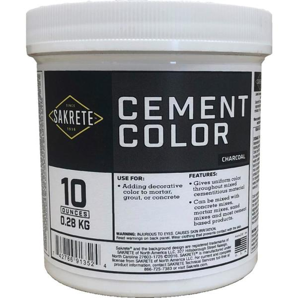 10 oz. Cement Color Charcoal