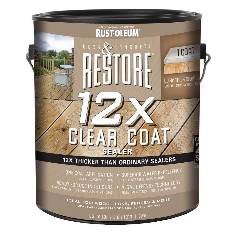 1 gal. 12X Clear Coat Sealer