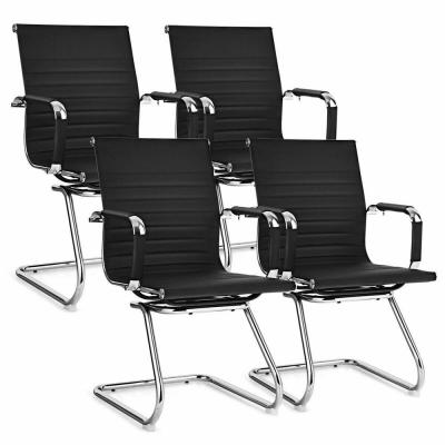 Set of 4-Office Guest Chairs Waiting Room Chairs