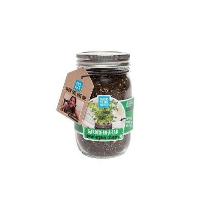 Garden in a Jar Cilantro Seed Starting Kit