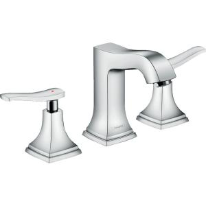 Metropol Classic 8 in. Widespread 2-Handle Bathroom Faucet in Chrome