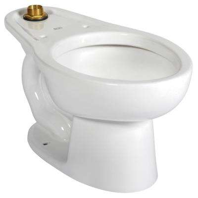 Madera Youth Elongated Toilet Bowl Only in White