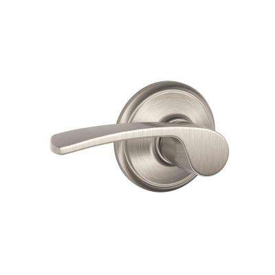 Merano Satin Nickel Passage Hall/Closet Door Lever