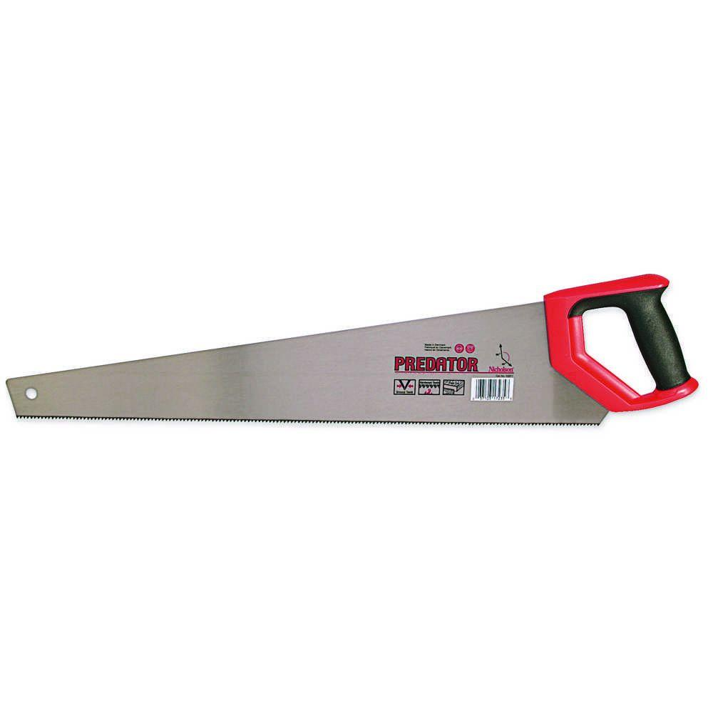 Nicholson 24 In Hand Saw With Plastic Handle Nsp1 The Home Depot