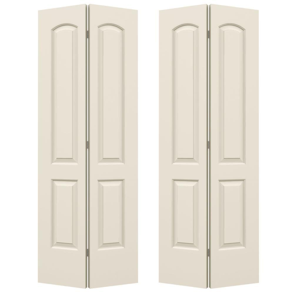 Jeld Wen 72 In. X 80 In. Continental Primed Smooth Molded.