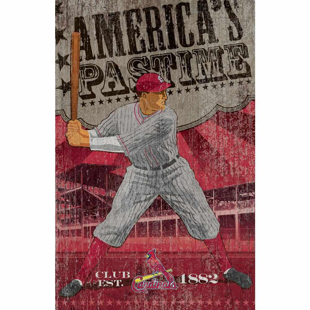St louis cardinals vintage wall art imp 251 2008 the for Craft stores st louis