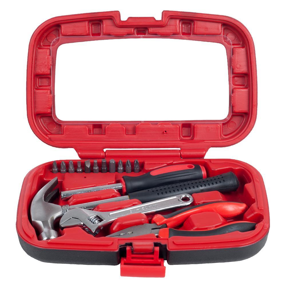 Stalwart Household Hand Tool Set (15-Piece) by Stalwart