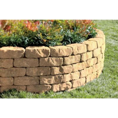 Mini Beltis 3 in. H x 8 in. W x 4 in. D Avondale Concrete Retaining Wall Block (378-Piece/Pallet)