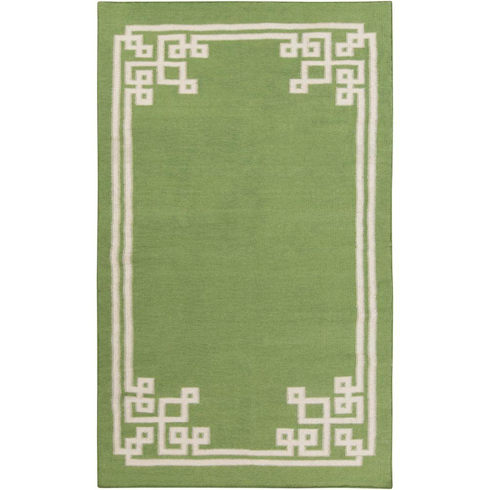 Abdera Lime 8 ft. x 11 ft. Indoor Area Rug