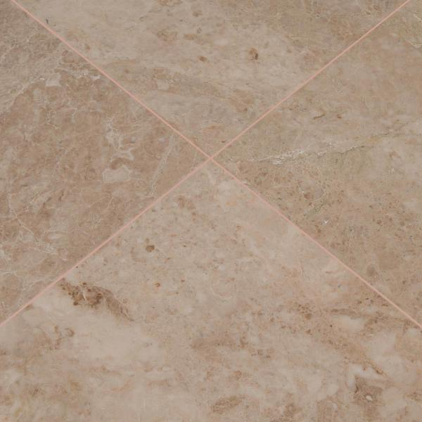 Premium Quality Crema Cappuccino Marble 1 X 1 Polished Mosaic Tiles LOT of 5 SHEETS