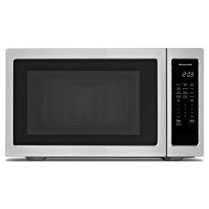Kitchenaid 2 20 Cu Ft Countertop Microwave In Stainless